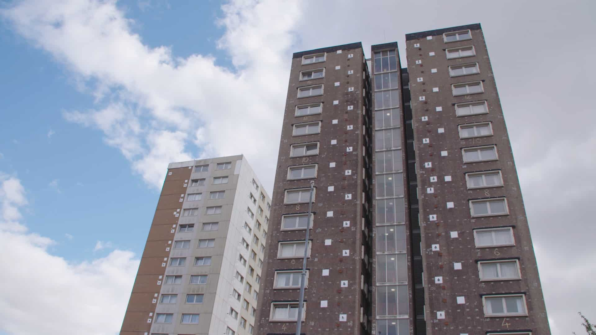 high rise building in Butetown, Cardiff